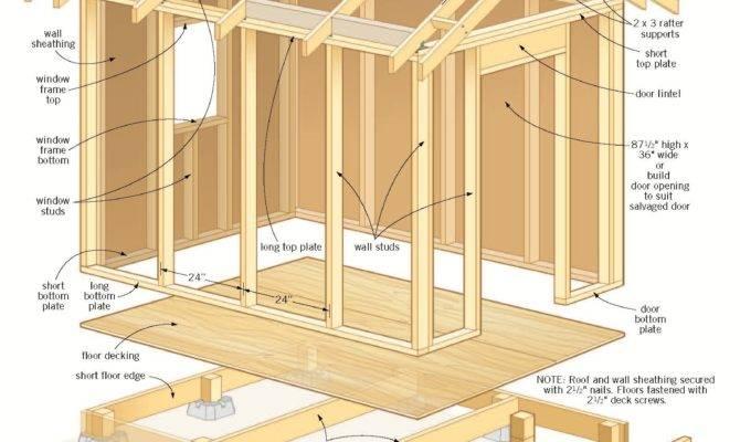 Garden Shed Building Plans Anakshed