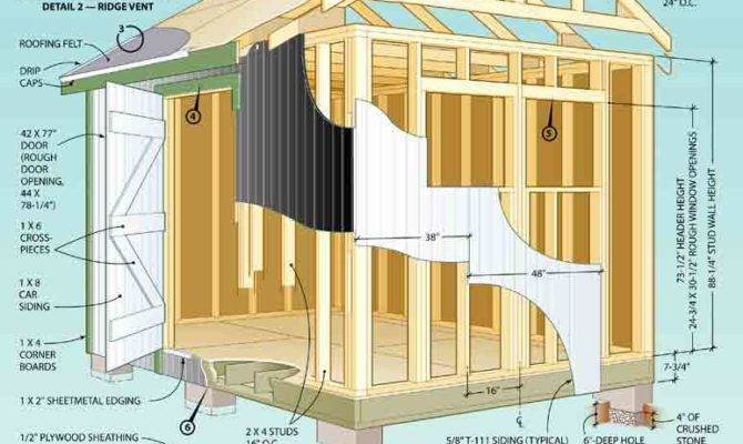 Garden Sheds Plans Shed Kits