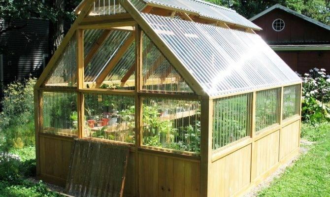 Gardens Greenhouses Diy Greenhouse Plans