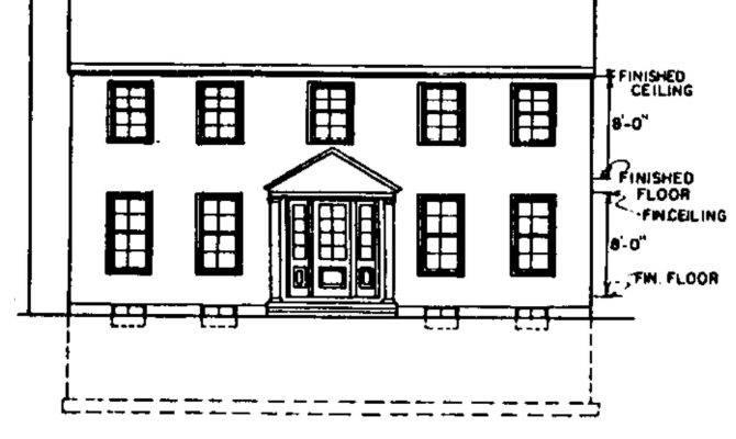Garrison Colonial Home Plans