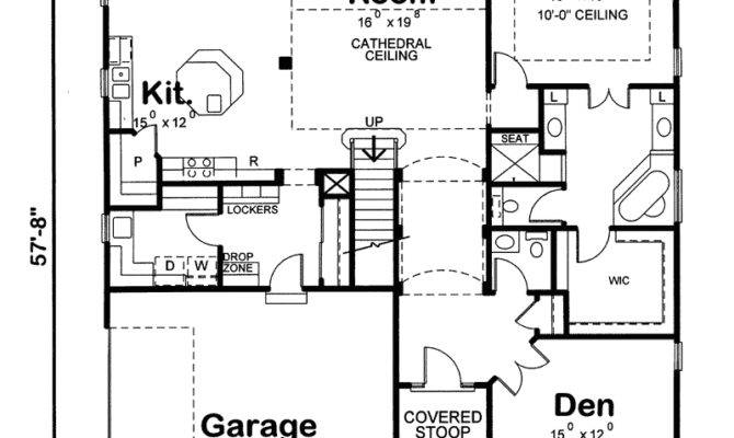 Garvin Arts Crafts Home Plan House Plans