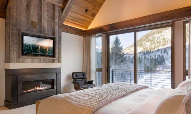 Gas Fireplace Bedroom Home Design