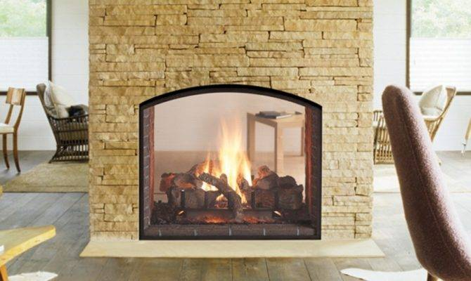Gas Two Way Fireplace
