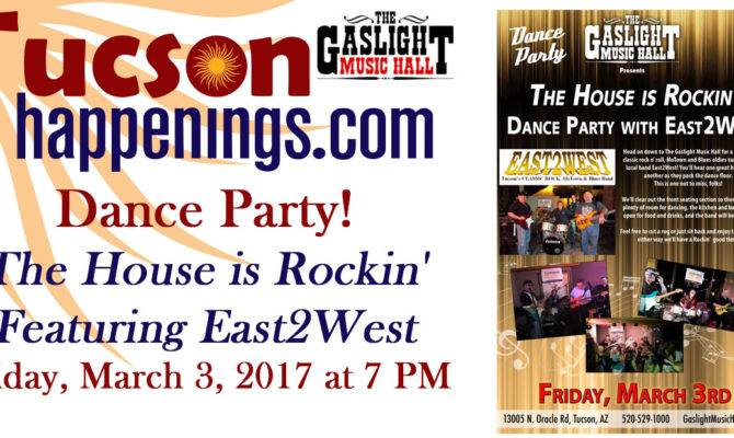 Gaslight Music Hall Oro Valley Presents Dance Party