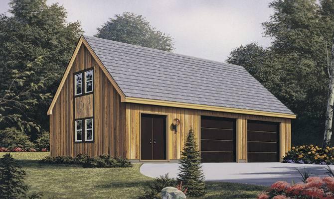 Gayle Garage Workshop Plan House Plans