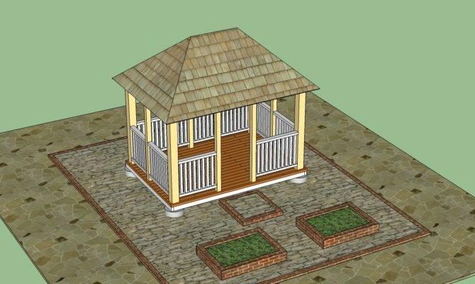 Gazebo Plans Howtospecialist Build Step Diy