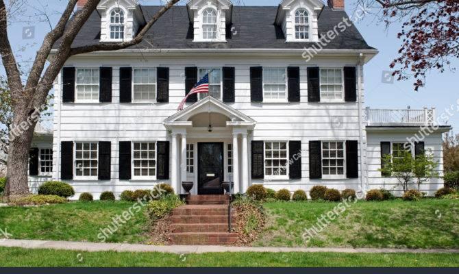 Georgian Colonial House Shutterstock