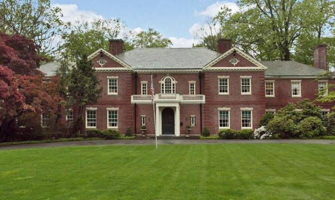 Georgian Colonial New Rochelle Homes