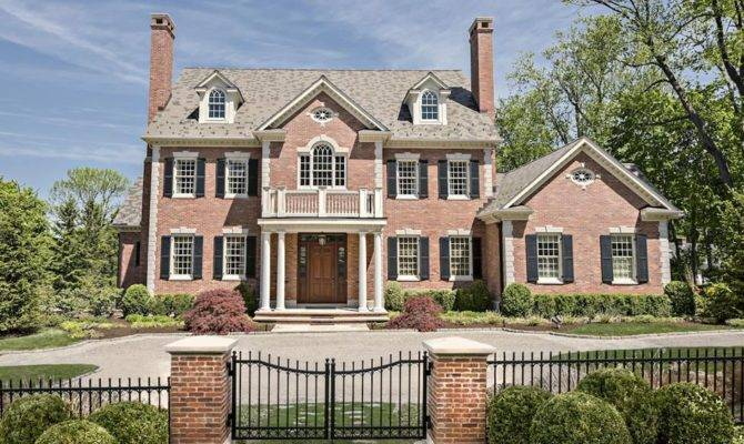 Georgian Colonial Style Homes Home Design