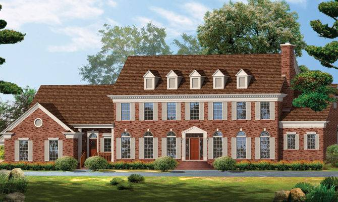 Georgian Home Plans Style Designs Homeplans