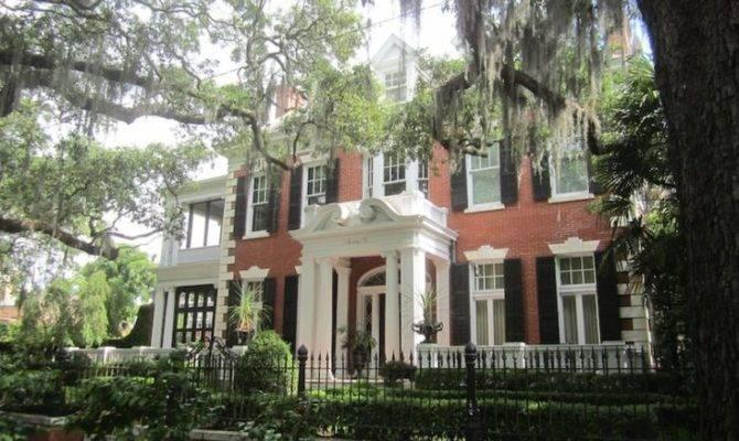 Georgian Revival House Forsyth Park Savannah