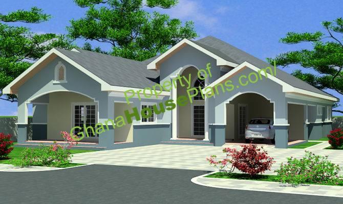 Ghana House Plans Maame Plan