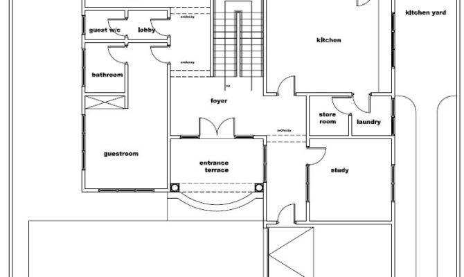 Ghana House Plans Naa Plan
