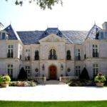 Giant Luxury French Style Mansion Home Pinterest