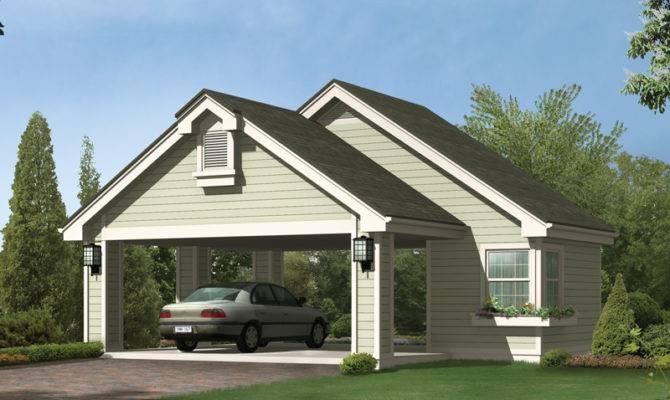 Gilana Carport Storage Plan House Plans