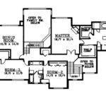 Gildford Tudor Multi Level Home Plan House