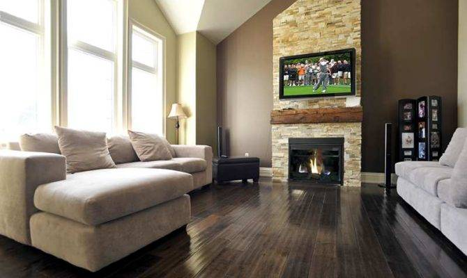 Glass Tile Fireplace Floor Ceiling Foot