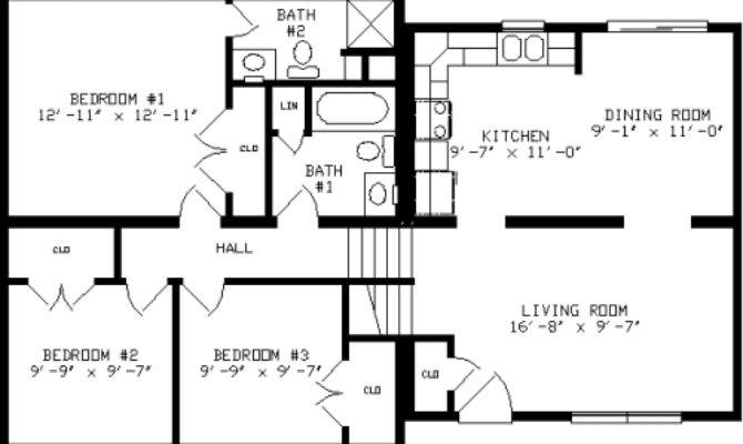 Glenn Haven Apex Modular Homes Split Level Floorplan