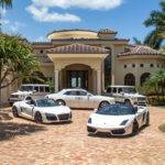 Golden Beach Waterfront Mansion Sale Exotic Car
