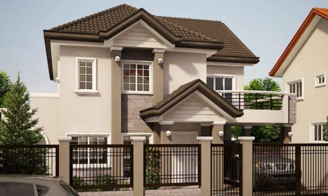 Gorgeous Elegant House Balcony Amazing Architecture