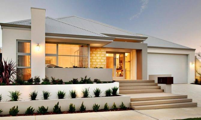 Gorgeous Luxury Single Storey Homes Design Garden
