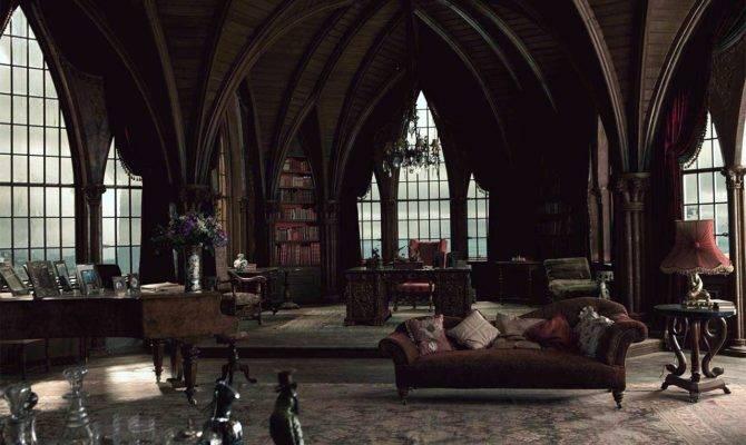 Gothic Interiors Church Halloween