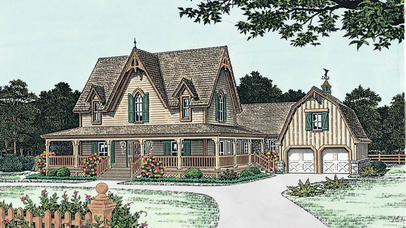 Gothic Revival Home Plans Style Designs House