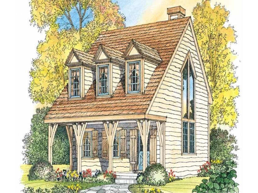 Gothic Revival House Plan Square Feet Bedroom