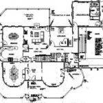 Gothic Victorian Mansion Floor Plan