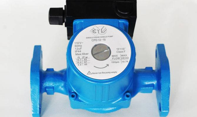 Gpm Speed Circulating Pump Hot Water Heat Solar