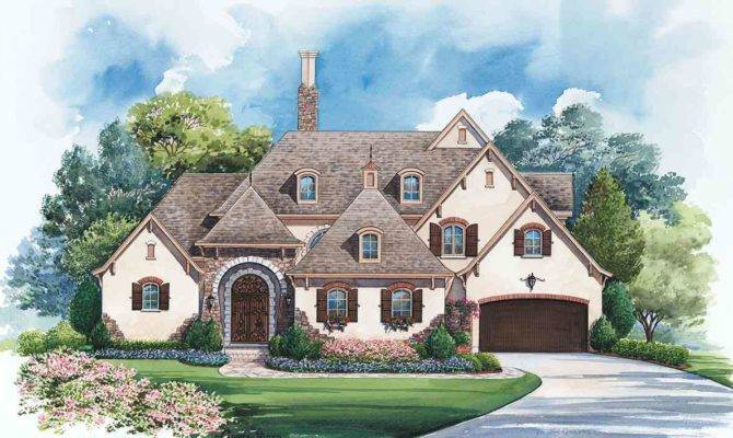 Gracious French Country Manor Architectural