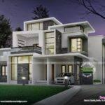 Grand Contemporary Home Design Kerala