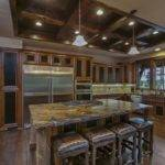 Grand Contemporary Rustic Craftsman Home Design Floorplan