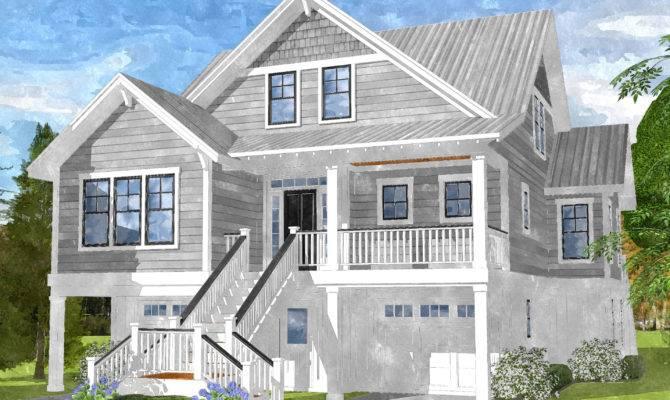 Gray Bay Cottage Coastal Home Plans
