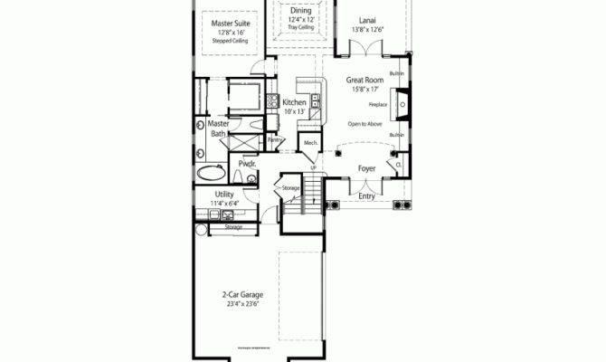 Great Narrow Lot Plan Floor Ideas Pinterest