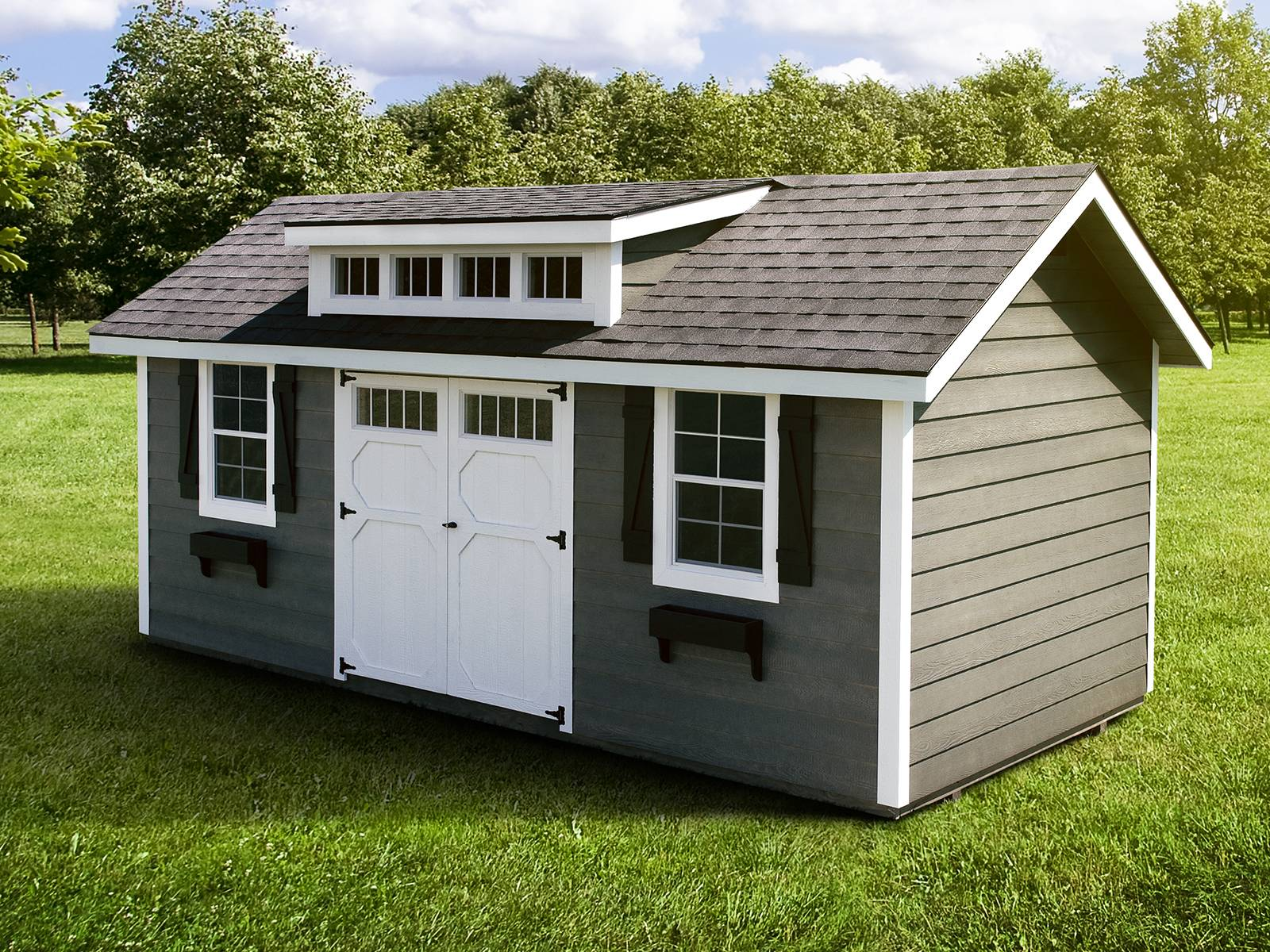 Great Prefab Sheds Your Garden Allstateloghomes