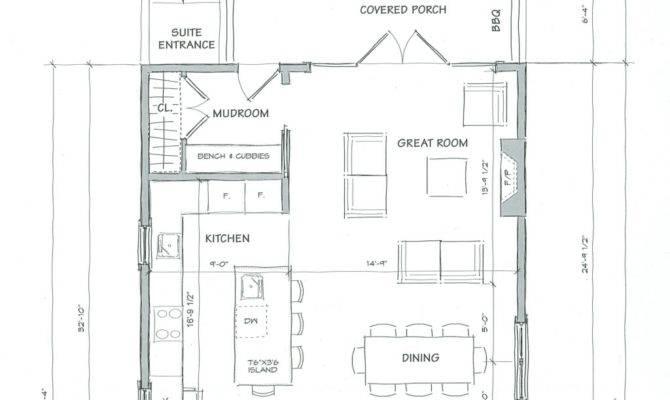 Great Room Floor Plans House