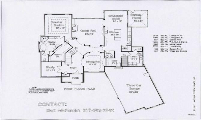 Great Room Kitchen Floor Plans