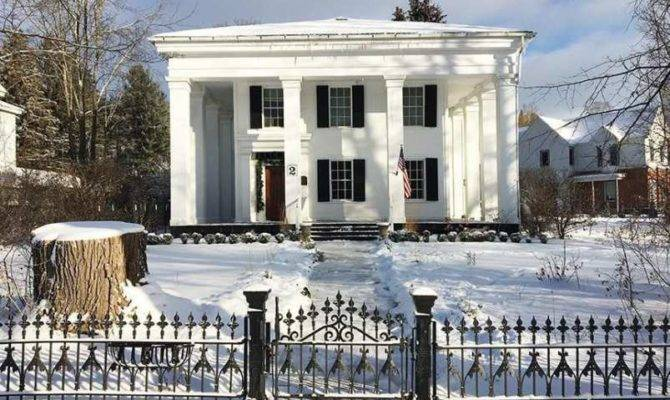 Greek Revival Angelica Old House