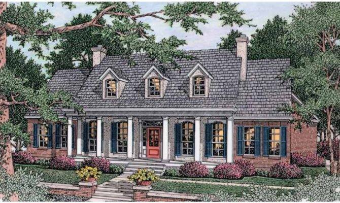 Greek Revival House Plan Square Feet Bedrooms