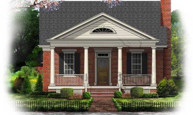 Greek Revival Style House Plans Home Designs