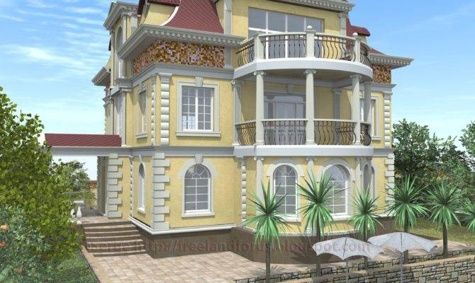 Greek Revival Style House