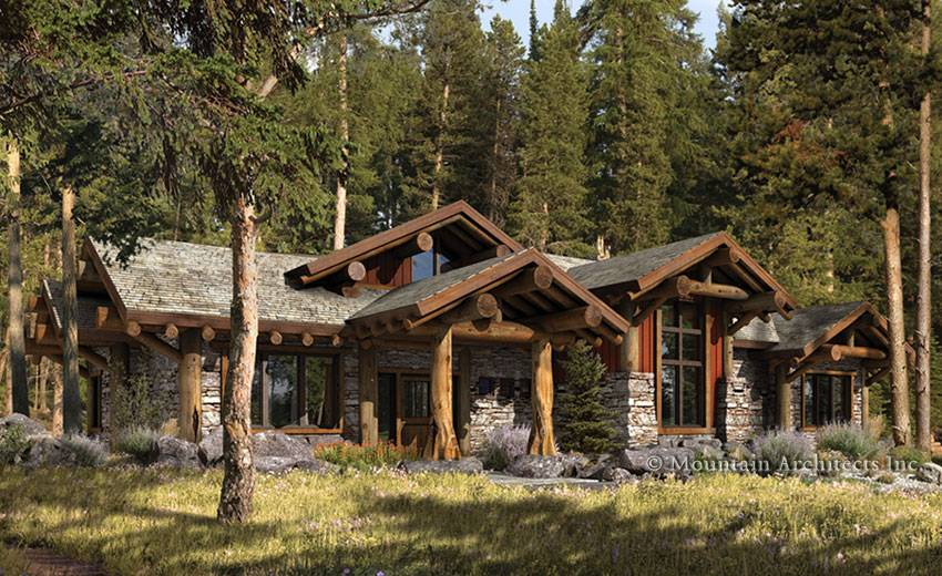 Green Design Archives Log Home Floor Plan Blog