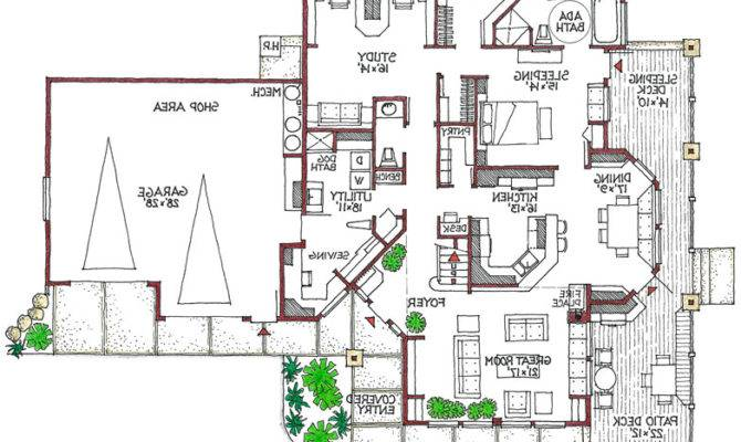 Green House Floor Plans Home Designs