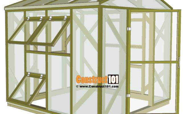 Greenhouse Plans Step Construct