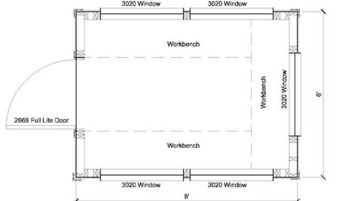 Greenhouse Shed Plans Storage
