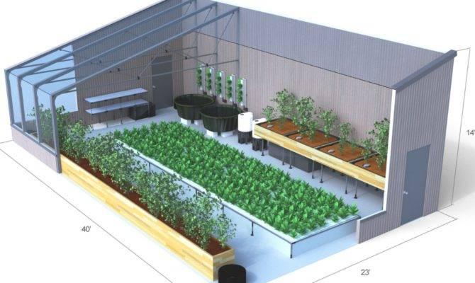 Greenhouse Training Aquaponic Source