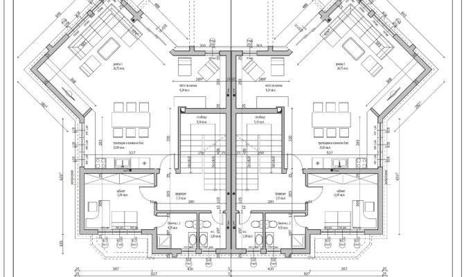 Ground Floor Plan Residential Building