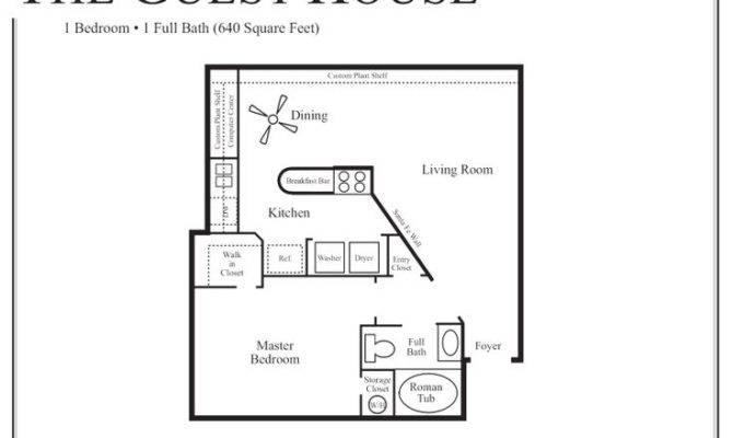 Guest House Floor Plan Studio Apartment Pinterest