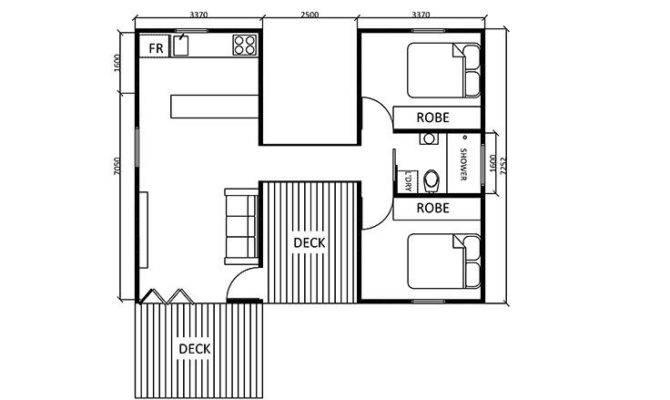 Guest House Floor Plans Bedroom Inspiration Building